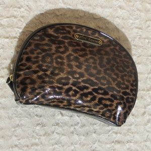 *LIKE NEW*Betsey Johnson*Leopard Makeup Bag